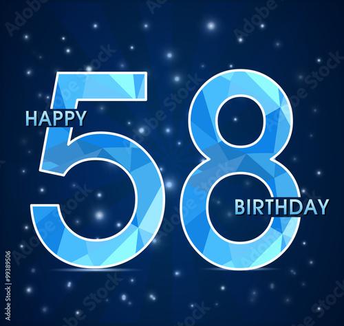 Поздравления с днем рождения 58 лет мужчине