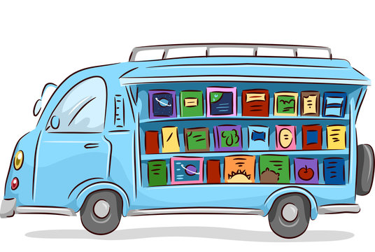 Books Mobile Library Drive