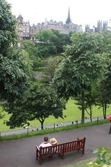 Fototapeta odpoczynek w parku obraz