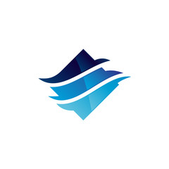 Consulting Wave Logo