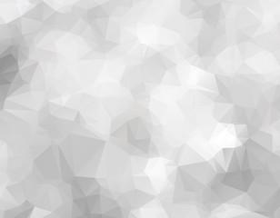 Silver Polygonal vector texture