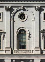 Capitol facade in Washington