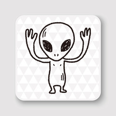 Doodle Alien