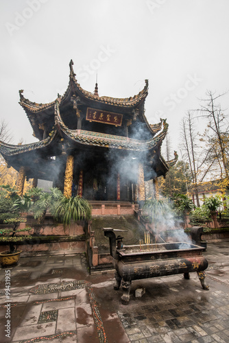 Qingyang China  City new picture : ancient Taoist architecture in Qingyang temple Chengdu,China
