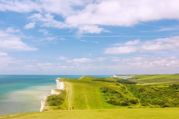 Wall Mural - Sussex, Beachy Head, Seven Sisters, Birling Gap