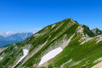 Mt.Karamatsu at Northern Alps in Japan