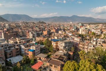 Über den Dächern von Kathmandu