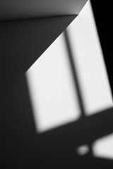 Architectural abstract in black and white