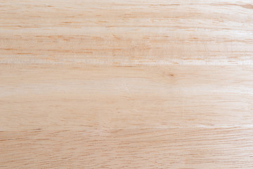 Wood table top illuminate with natural light