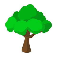 Tree cartoon icon