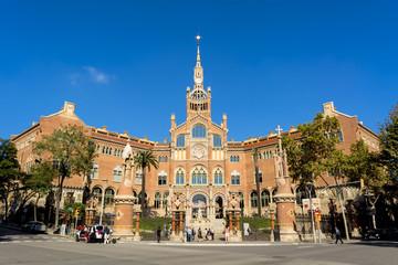 Fototapete - バルセロナのサン・パウ病院