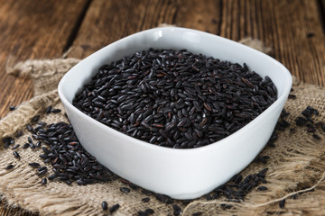Uncooked Black Rice