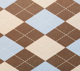 retro geometric triangles pattern