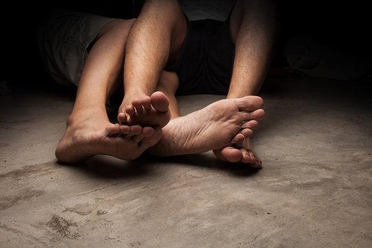 Foot slave gay Confessions of