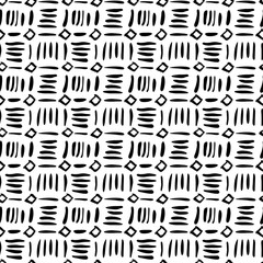 Seamless doodled pattern