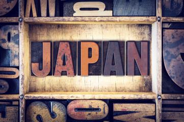 Japan Concept Letterpress Type