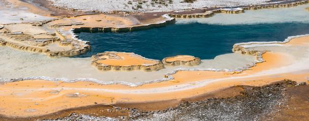 Natural hot spring, Yellowstone National Park