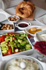 zengin türk kahvaltısı