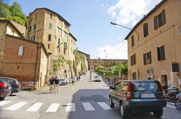 vista de Siena, La Toscana, Italia