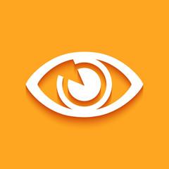 Logo œil.