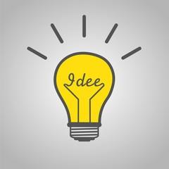 The German Idee Lamp