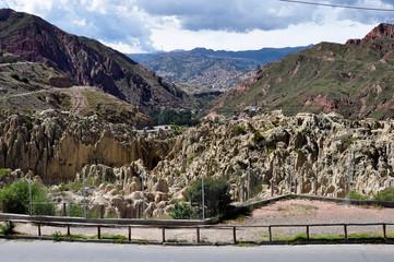 Wall Mural - Valle de la Luna near La Paz, Bolivia
