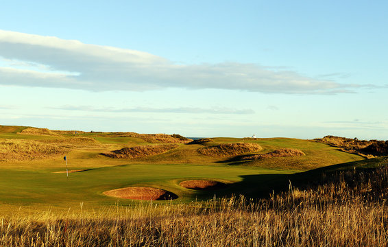 "8th Hole, ""Ridge"".  Royal Aberdeen Golf Club, Balgownie, Aberdeen, Scotland"