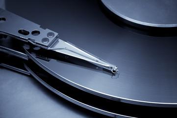 Vintage hard disk detail