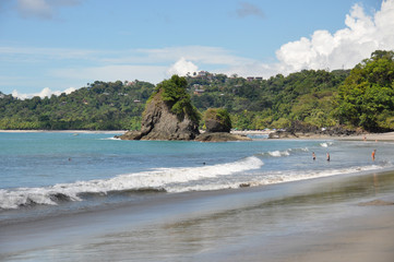 Fototapete - Beach at Manuel Antonio National Park, Costa Rica