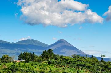View of Izalco Volcano, El Salvador