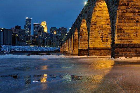 Stone Arch Bridge in Minneapolis