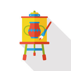 draw painting flat icon