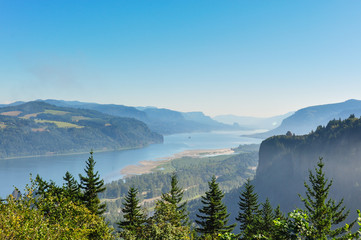 Fototapete - Columbia River Gorge, Oregon, USA