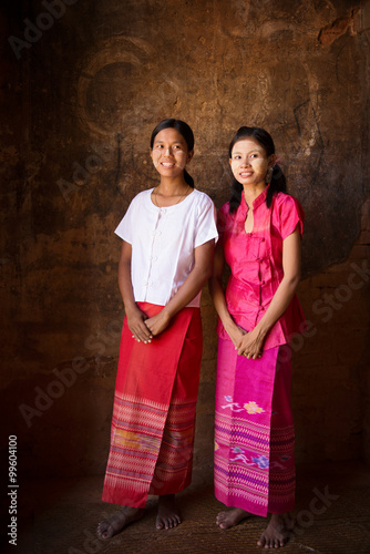 Myanmar girl full photo