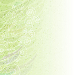 abstract floral background pattern left