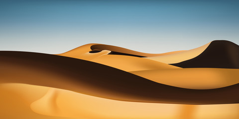 Désert de sable - Sahara