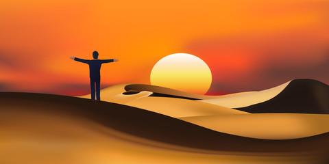 Desert désert liberté