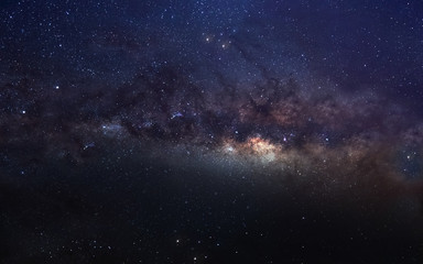 Keuken foto achterwand Heelal Infinite space background with milky way. This image elements furnished by NASA.