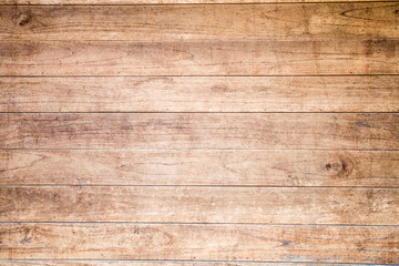 Garden Poster Wood Wood brown plank texture background.