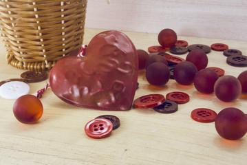 vintage valentine decoration