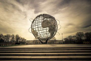 Worlds Fair Unisphere New York City