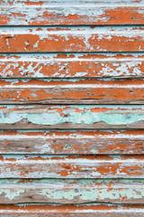 Alte Holzwand lackiert