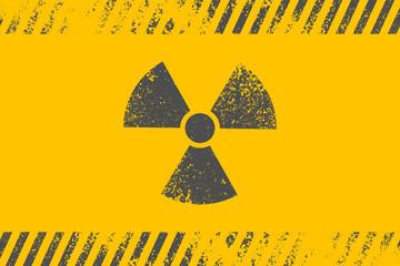 Radioactive symbol. Design element. Vector illustration,eps 10.