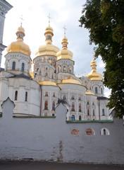 Kiev-Pechersk Lavra, back side of Dormition Cathedral