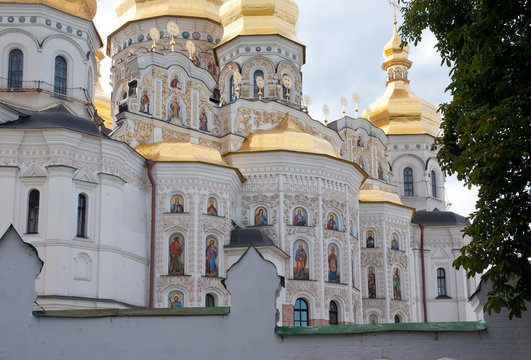 Kiev-Pechersk Lavra, the fragment of Dormition Cathedral