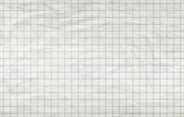 Old squared paper sheet, seamless background texture