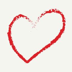 heart drawing love valentine