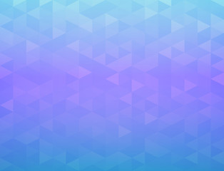 Abstract  mosaic polygon vector eps 10 background Sensual blue purple gradient