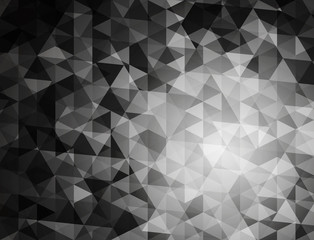 Abstract  mosaic background. Triangle explosion. polygon vector eps 10