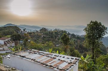 sunrise in the Annapurnas